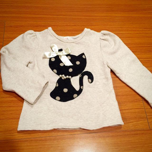 韓國製貓咪保暖上衣 5號