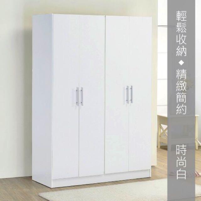 四門衣櫥 衣櫃(最後一個即將跳漲)