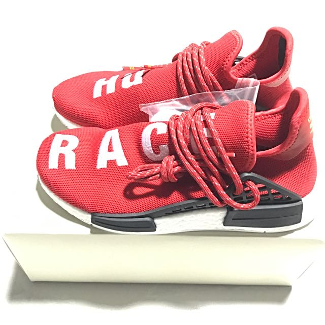 697735112 adidas originals x PHARRELL WILLIAMS HUMAN RACE NMD SCARLET US 6 ...