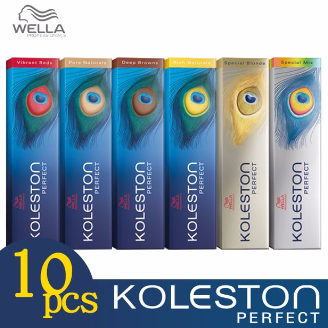 Any 10pcs - Wella Koleston Perfect Permanent Hair Color Dye 60g Wholesale