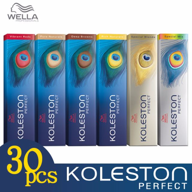 Any 30pcs - Wella Koleston Perfect Permanent Hair Color Dye 60g Wholesale