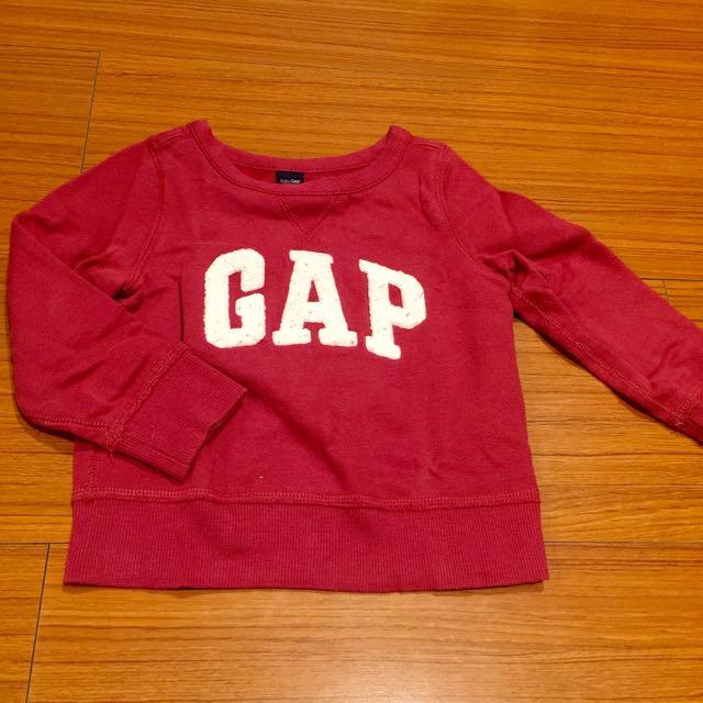 七成新❤️baby Gap 大學t 2Y