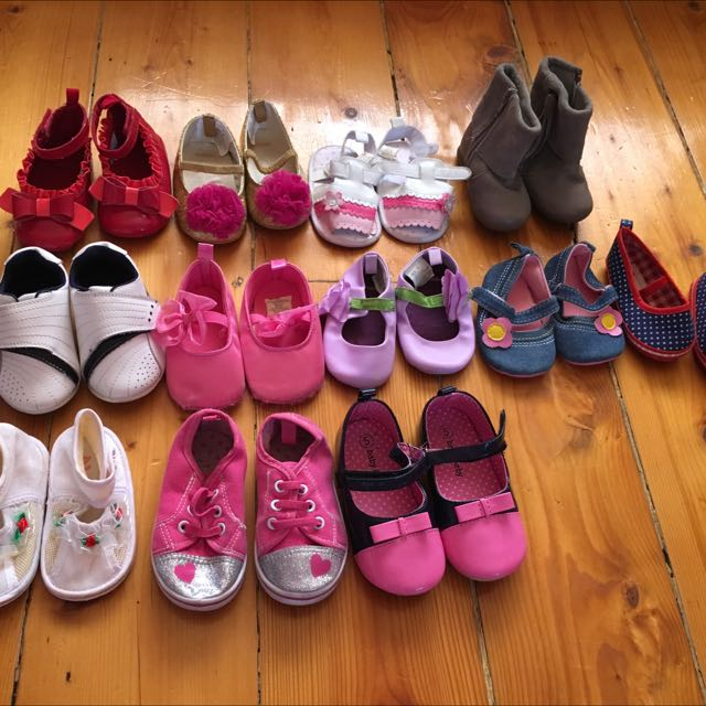 Baby To Toddlers Girls Shoes