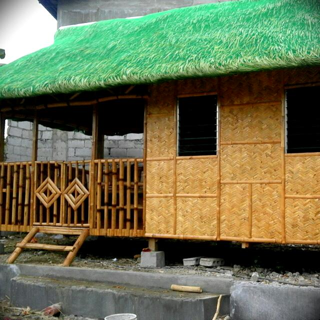 Bahay Kubo Made In Bamboo And Sawali Property For Sale