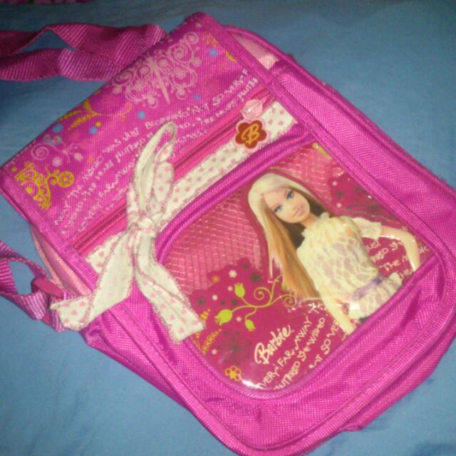 Barbie Mini Sling Bag, Backpack & Lunch Box