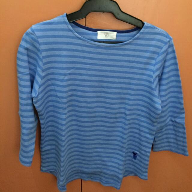 Bayo Blue-striped Blouse