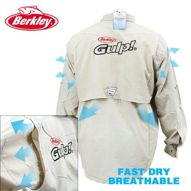 BERKLEY FISHING SHIRT (PO)
