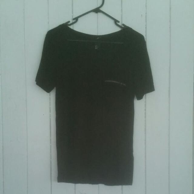 Black H&M Shirt