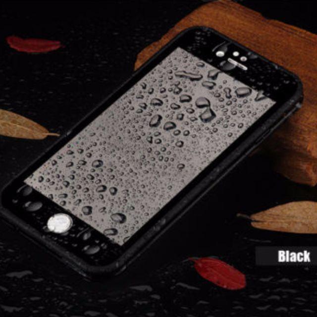 Black iPhone 7 Plus Waterproof Case