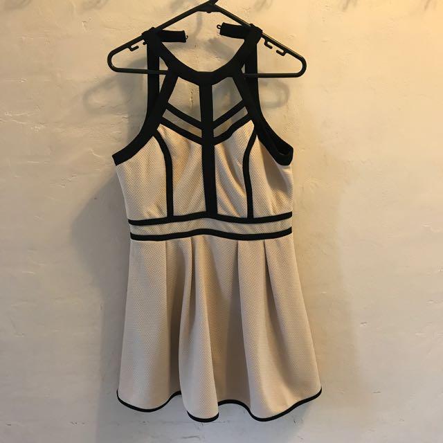 Black Strapped Dress