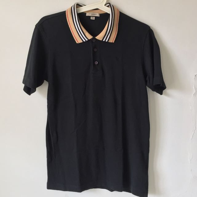 Burberry London Polo Shirt Black