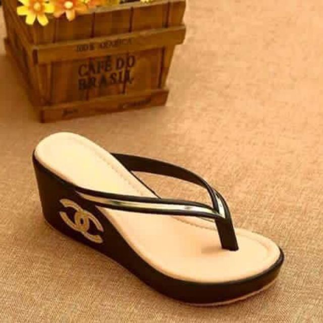 Chanel 2inch Wedge