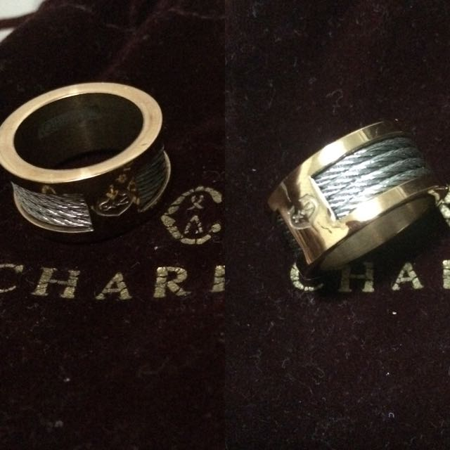 Charriol Rosegold Ring