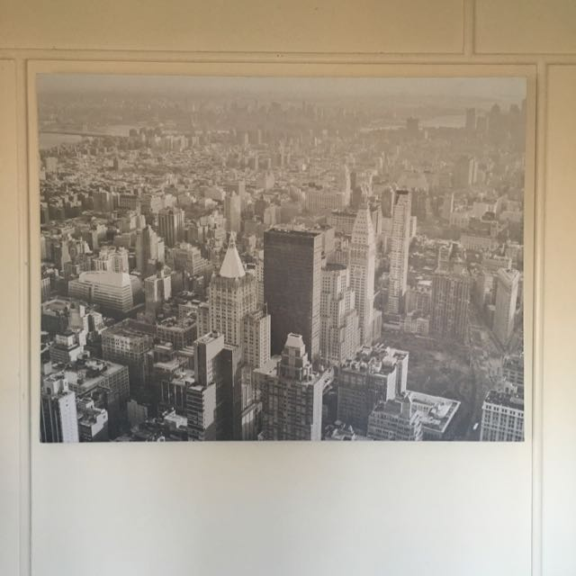City Scape Canvas