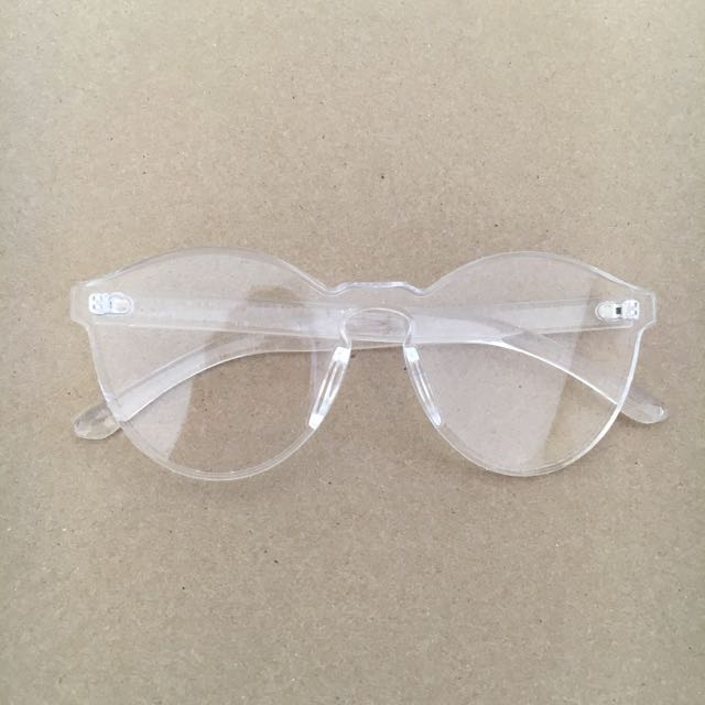 Clear Perspex Glasses