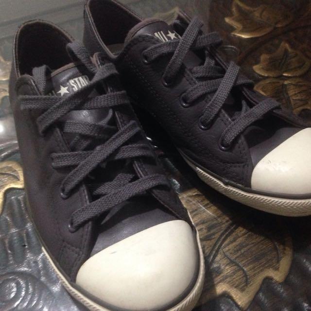 Converse Grey Leather sku 535415C