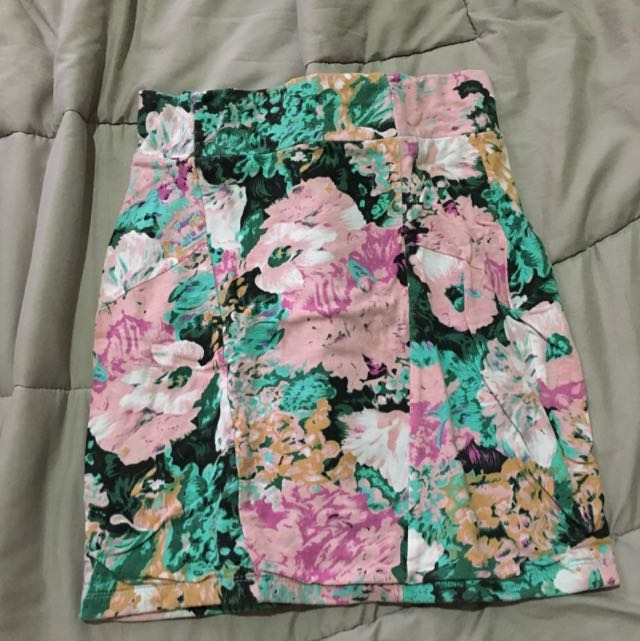 Cotton On Floral Mini Skirt