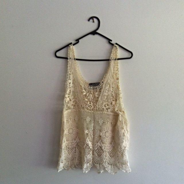 Crochet Singlet Size L
