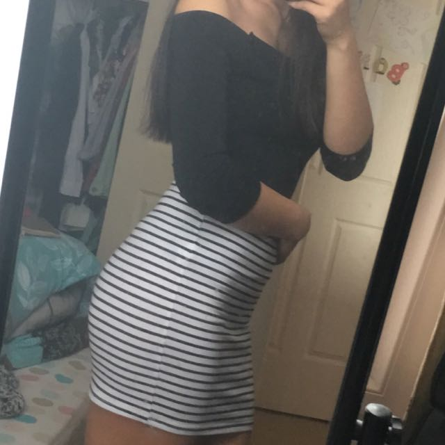 💧Crop and Skirt💧