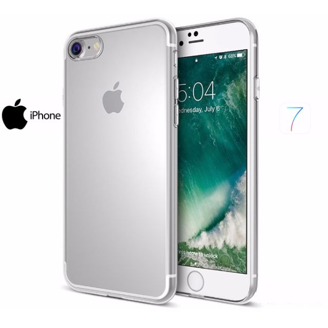 Crystal Clear Transparent Case For iPhone 7/ Plus