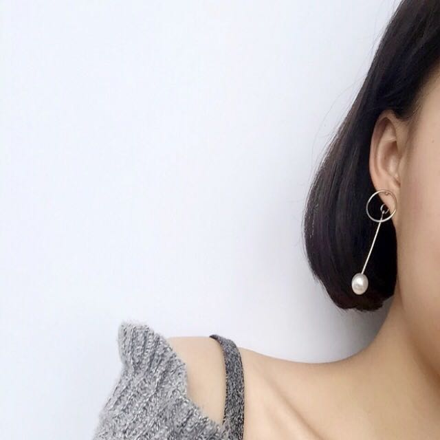 Cute Pearl Earrings