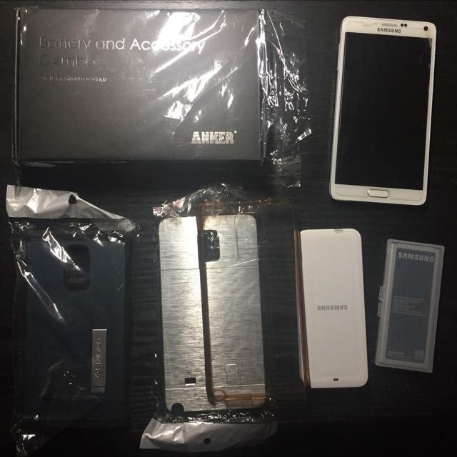 Galaxy Note 4 32gb + Accessories