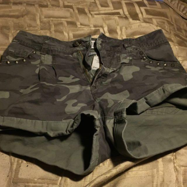 Garage Camo Shorts