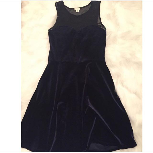 Garage Velvet Dress