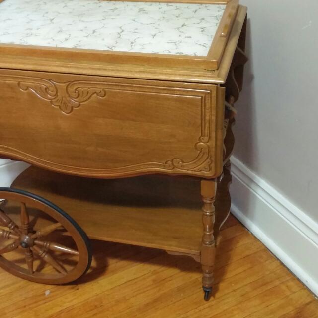 Gibbard Antique tea cart