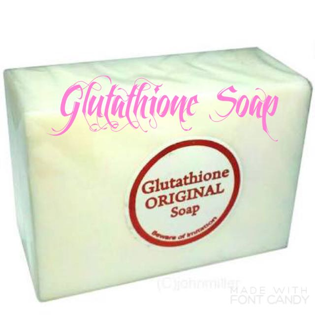 Glutathione Soap 5's