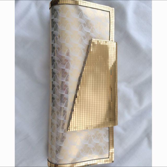 Gold Detail Clutch