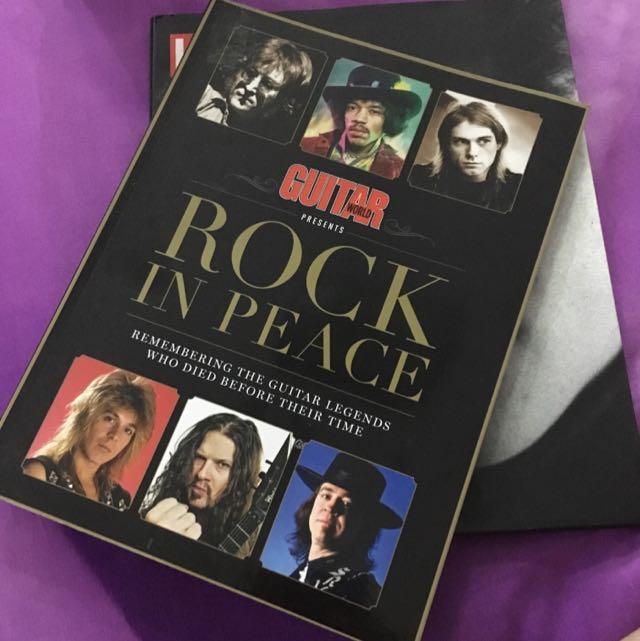 GUITAR - ROCK IN PEACE