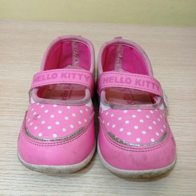 Hello Kitty粉色冰淇淋運動便鞋