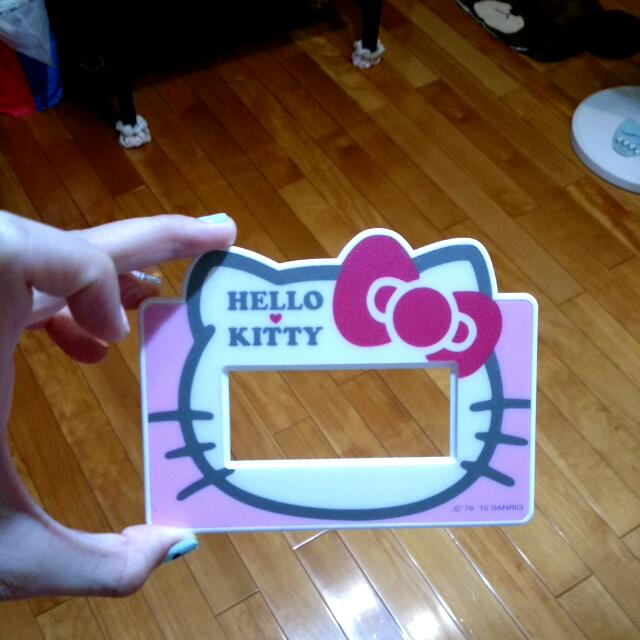 Hello Kitty三孔插座蓋