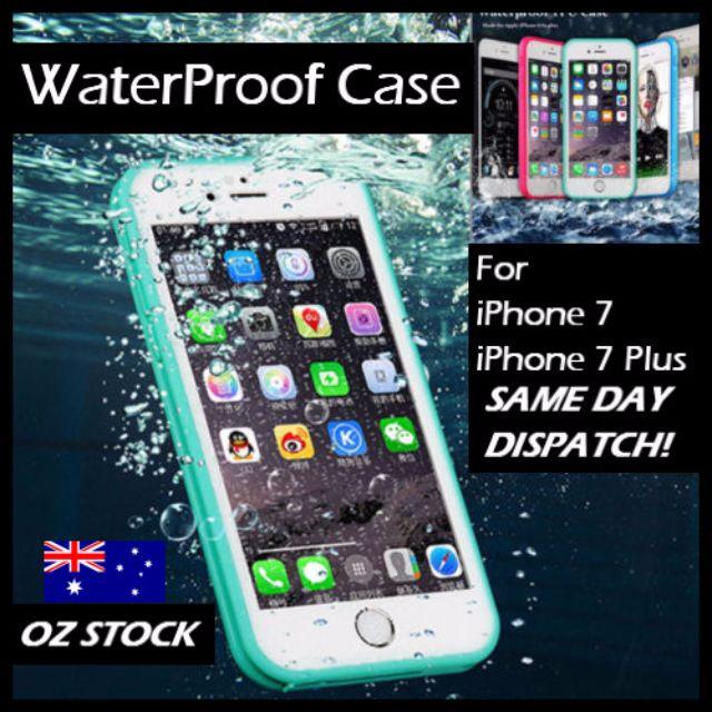 Iphone 7 / Plus WaterProof ShockProof DirtProof Thin Case Cover