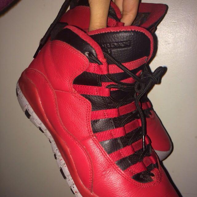 Jordan Bulls Over Broadway Tens