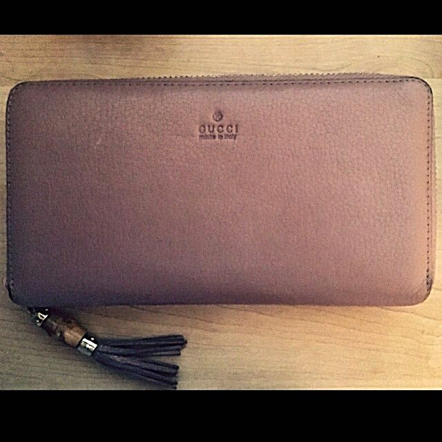 🔴Leather Gucci Wallet