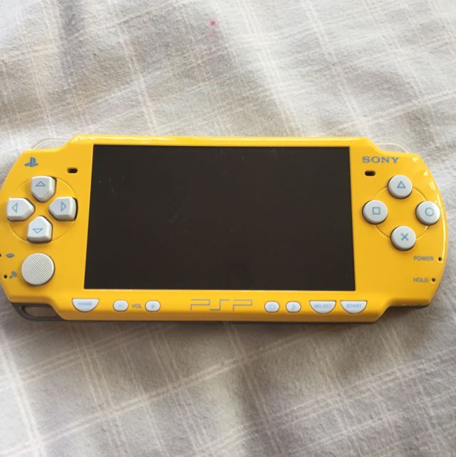 Limited Edition Simpsons PSP Console