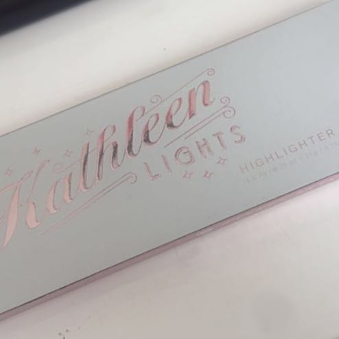 Makeup Geek Kathleen Lights Highlight Palette