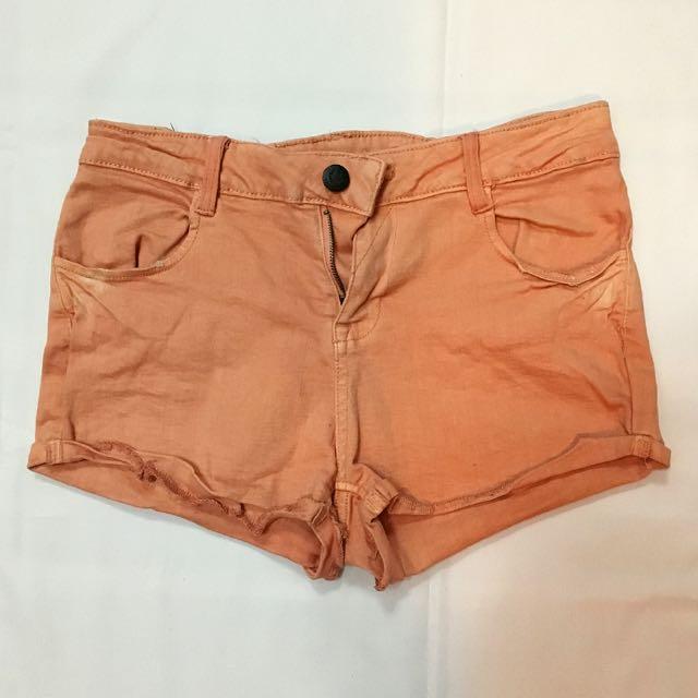Mango Orange Shorts
