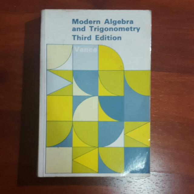 Modern Algebra and Trigonometry 3rd Edition by Vance