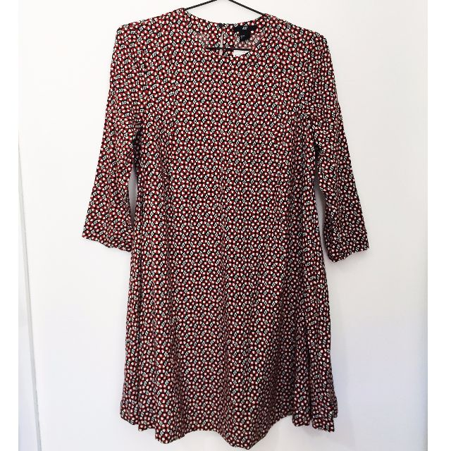 Never Worn! 60s / 70s Style Patterned Swing Dress