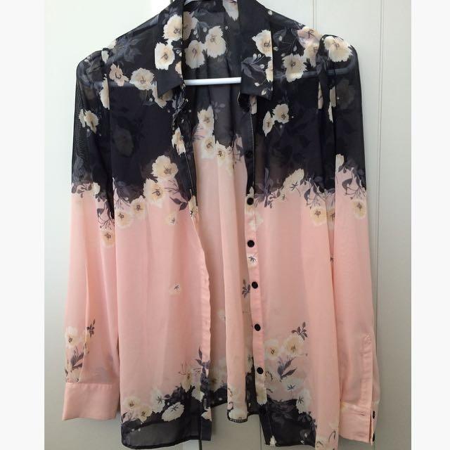 NEW Floral Shirt