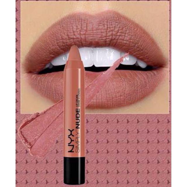 NYX Simply Nude Lip Cream (Sable SN 06)