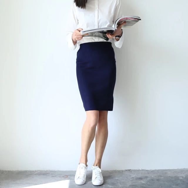Pencil Skirt(2 Colours)