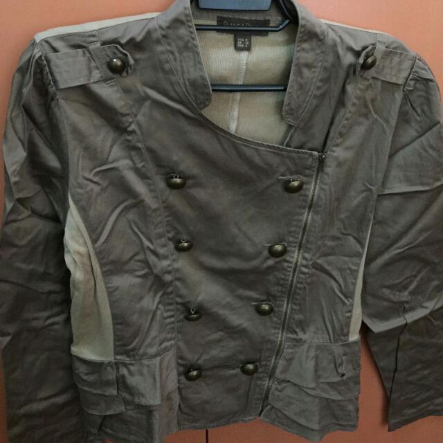 Plains & Prints Brown Jacket