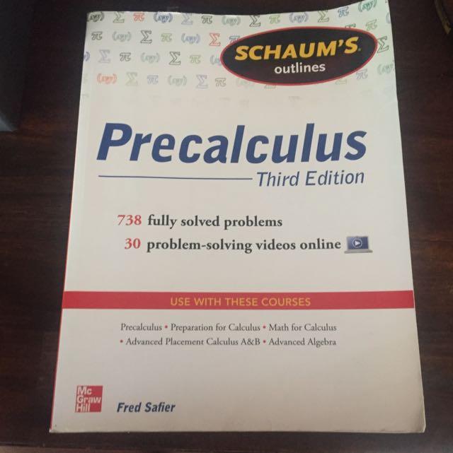 Precalculus Third edition