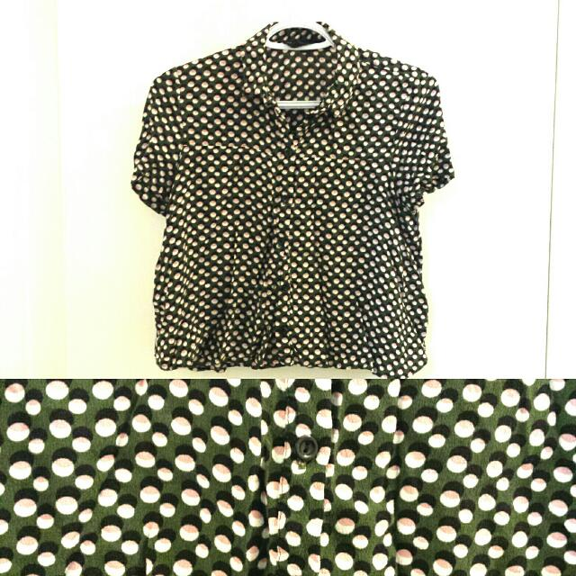 Printed Crop From Top Shop
