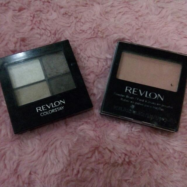 Reprice! Revlon Eye Shadow & Blush On