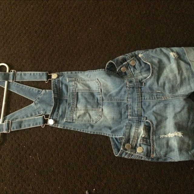 size 0 short overalls